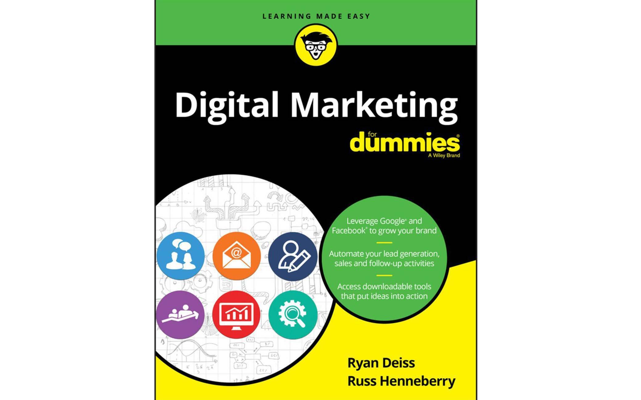 آموزش دیجیتال مارکتینگ: کتاب Digital marketing for dummies اصول و ابزارها